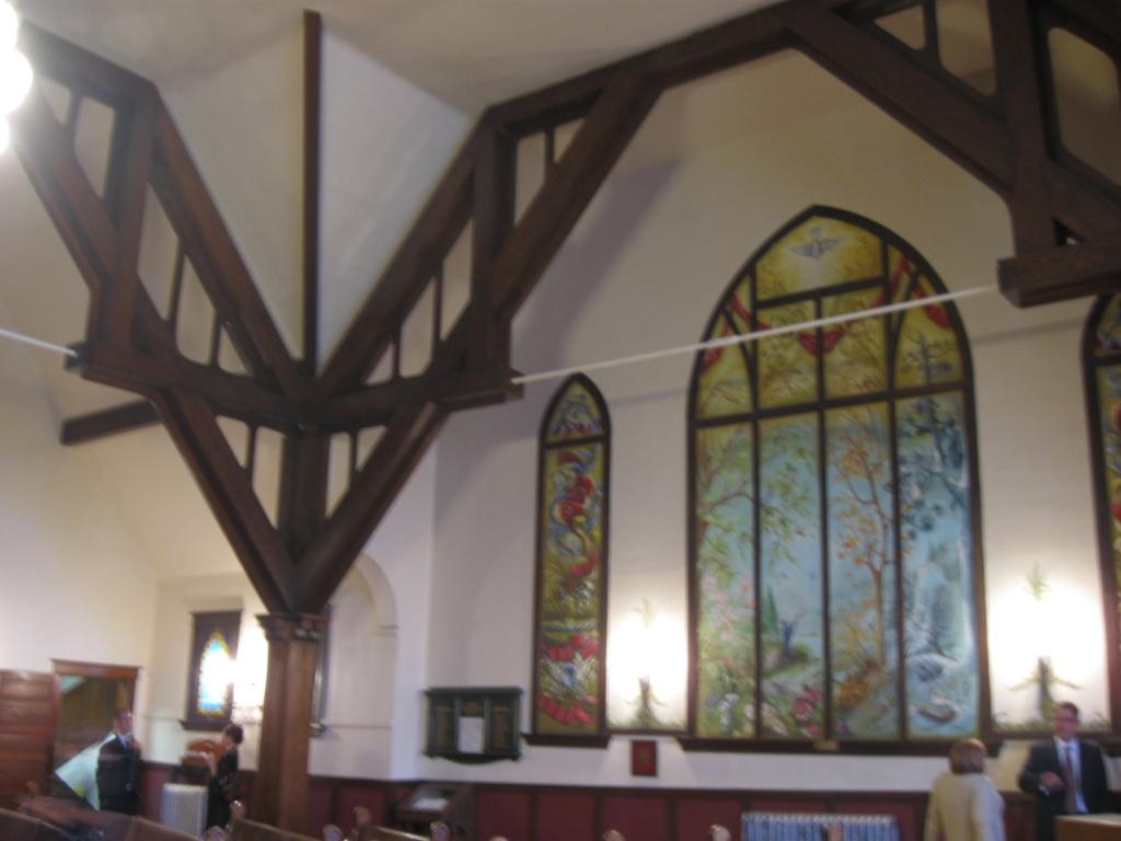 100 year old Hillcrest United Church